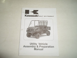 2009 Kawasaki MULE 4010 TRANS 4x4 Utility Vehicle Assembly & Preparation Manual - $12.66