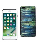 REIKO IPHONE 7 PLUS EMBOSSED WOOD PATTERN DESIGN TPU CASE WITH MULTI-LETTER - $9.80