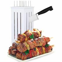 Kebab Maker Shish Kabob Bbq Stainless Steel Skewers Skewer Express Meat ... - €56,66 EUR