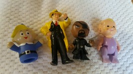Disney Marvel Doll Toy Lot Pre-owned 4 Pieces For Boy Or Girl - $5.78