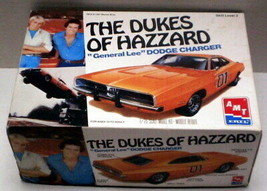 AMT 8597, 1997 Dukes of Hazzard General Lee 69 Dodge Charger, 1/25 Scale... - $41.77