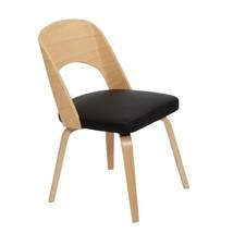 Fine Mod Imports Bendino Dining Chair, Black - $180.00