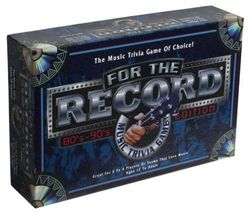 For the Record 80's and 90's Edition [New] Music Trivia Board Game - $39.99