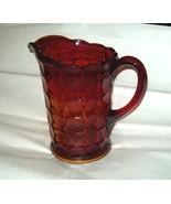 Indiana Glass Tiara Ruby Sunset Amberina Red Constellation Water Pitcher... - $24.99