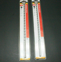 """X2 Piece Master Mechanics 13"""" Rotary Masonry Drill Bits 5/16"""" - $12.82"""