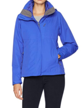 Large 12-14 White Sierra Women's 3-In-1 Trifecta Interchange Jacket Dazzle Blue
