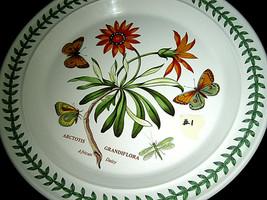 "Portmeirion Botanic Garden Dinner Plate African Daisy 10 1/2"" #1 - $69.99"