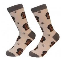 Dachshund Black Socks Unisex Dog Cotton/Poly One size fits most - $11.99
