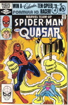 Marvel Team-Up Comic Book #113 Spider-Man and Quasar 1982 VERY FINE - $2.99