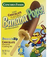 Concord Foods Chocolate Banana Pop Kits, 4-ounce Kits (VALUE Pack of 6 K... - $49.99