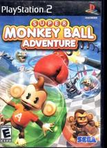 Super Monkey Ball Adventure - PlayStation 2 - $11.90