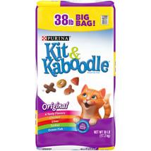 Purina Kit & Kaboodle Original Adult Dry Cat Food (38 lbs.) - $29.01
