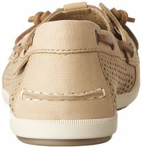 Sperry Top-Sider Women's Coil Ivy Linen Scale Emboss Boat Shoes STS80256 NIB image 4