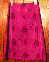 Sz 3/4 - Express Pink w/Red Paisley Print Skirt Size 3/4 - $19.24