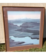 "Captivating Framed Jerry Schurr Four Color Poster "" SHADOW LAKE "" 1980's - $692.01"