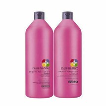 Pureology Smooth Perfection Shampoo and Conditioner 33.8oz Liter-SELECT - $73.93+