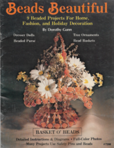 Vintage Booklet-BEADS BEAUTIFUL-9 Beaded Projects-Home-Fashion-Holiday D... - $12.16