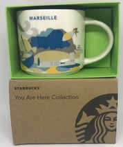 Starbucks You Are Here Collection Marseille Ceramic Coffee Mug New With Box - $46.52