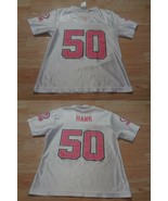 Women's Green Bay Packers AJ Hawk S Jersey (White/Pink) NFL Team Apparel... - $18.69