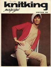 KnitKing Aug 1970 Vintage Machine Knitting Patterns Hip Boho Retro Hippi... - $7.12
