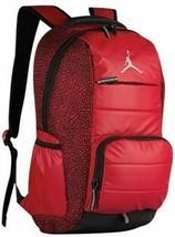 """NIKE JUMPMAN AIR JORDAN Red 19"""" Multi-Pocket School or Travel Backpack N... - $49.49"""
