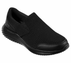 Skechers Black shoe Men Memory Foam Comfort Slip On Casual Mesh Sport Wa... - $44.99