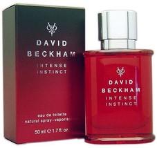 David Beckham Intense Instinct edt Spray 1.7 oz Men SEALED Coty Fragranc... - $96.99