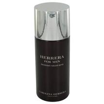 Original Carolina HERRERA FOR MEN DEODORANT SPRAY 5 oz. Cologne Perfume ... - $38.79