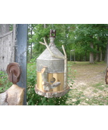 Handcrafted Birdhouse one of a kind unique garden - $55.00