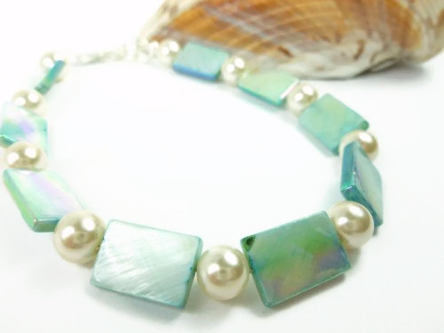 Turquoise_mother_of_pearl_and_white_ankle_bracelet_square_round_9_inch_274e0a2e_1_