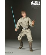 Sideshow Luke Skywalker Rebel Commander Bespin 12in Collectors Action Fi... - $273.23