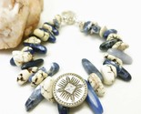 Natural howlite nugget southwest sterling beaded bracelet earring set f0ce1fb4 1  thumb155 crop
