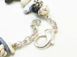 Natural howlite nugget southwest sterling beaded bracelet earring set b31ec67c 1  thumb200