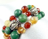 Jade_carnelian_orange_green_gemstone_sterling_beaded_coil_bracelet_babe2321_1__thumb155_crop