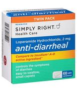 Anti-Diarrheal 400 Caplets Member's Mark Lopera... - $9.26