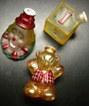 Old World Christmas Christmas Tree Glass Light Bulb Covers Lot 07 Clown Block - $19.99