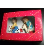 Kurt S Adler Christmas Ornament Dillard's Trimmings Kids on Rocking Horses Boxed - $14.99