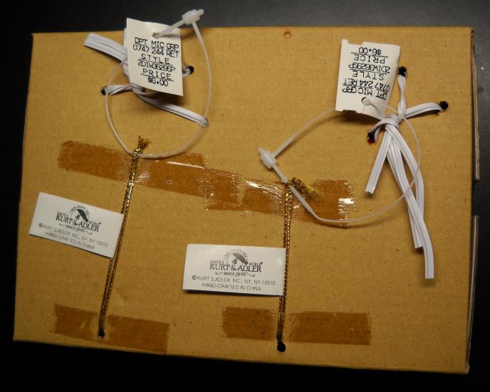 Kurt S Adler Christmas Ornament Dillard's Trimmings Kids on Rocking Horses Boxed