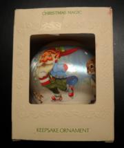 Hallmark Keepsake Christmas Ornament 1981 Christmas Magic Satin Ball Ice... - $13.99