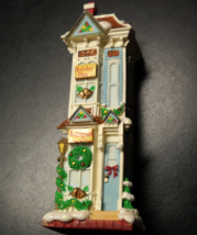 Carlton Cards Christmas Ornament 1997 Christmas Tree Lane Third in Series Boxed - $12.99