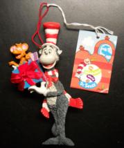 Enesco Wubbulous World Of Dr Seuss Christmas Ornament Cat in The Hat Jim Henson - $9.99