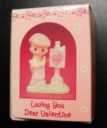 Enesco Precious Moments Collection 1989 Loving You Dear Valentine Boy Ar... - $7.99