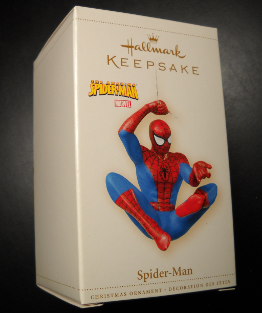 Primary image for Hallmark Keepsake Christmas Ornament 2006 Spider-Man Anita Marra Rogers Boxed