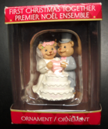 American Greetings Christmas Ornament 2006 First Christmas Together Boxed - $8.99