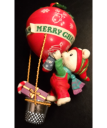 Carlton Cards Heirloom Christmas Ornament 1993 Airmail Delivery Bear in ... - $12.99