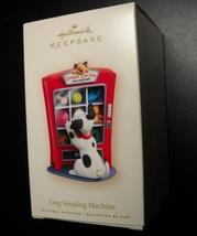 Hallmark Keepsake Christmas Ornament 2007 Dog Vending Machine Boxed Nina... - $12.99