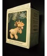Enesco Precious Moments Christmas Ornament 1995 Merry Chrismoose Origina... - $7.99
