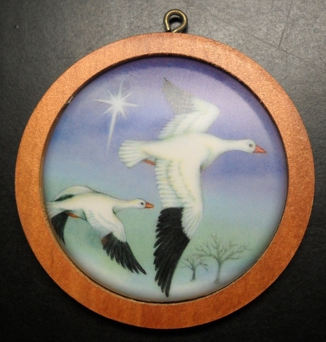 Primary image for Hallmark Keepsake Christmas Ornament 1987 Snow Goose Sixth in Wildlfe Series