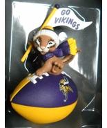 Hallmark Keepsake Christmas Ornament 1999 Minnesota Vikings NFL Collecti... - $10.99