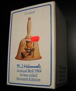 Goebel Hummel Annual Bell 1984 Seventh Edition Bas Relief Original Box a... - $10.99